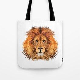 Lion Triangle Tote Bag