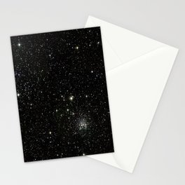 Space - Stars - Starry Night - Black - Universe - Deep Space Stationery Cards