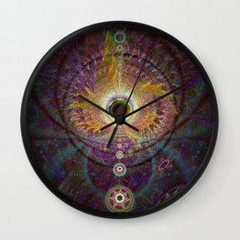 Shamanic Journey Wall Clock
