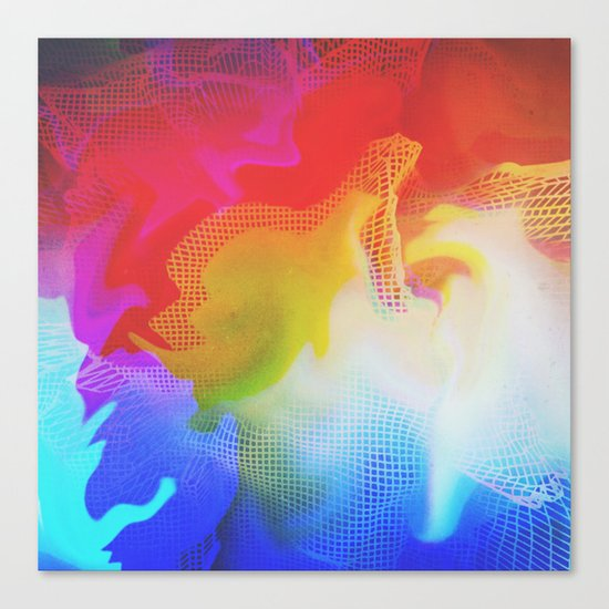 Glitch 31 Canvas Print