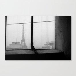 Paris est un animal  Canvas Print