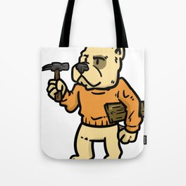 carpenter wood gift joiner craftsman job Tote Bag
