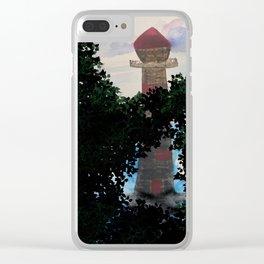 Secret tower Clear iPhone Case