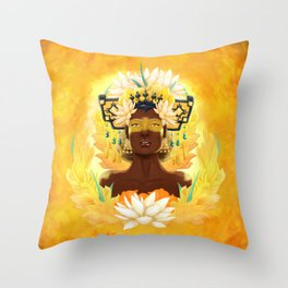 Long feast | Chiyoo Throw Pillow