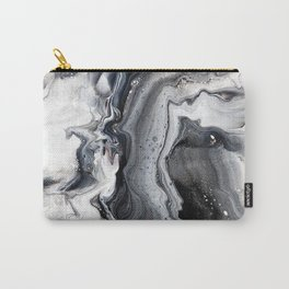 Marble B/W/G Carry-All Pouch