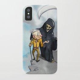 Suspense iPhone Case