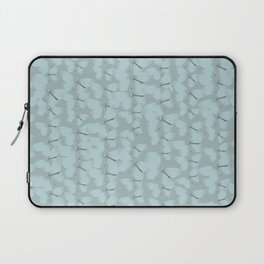 Butterflies Blue Vintage Laptop Sleeve