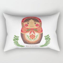 Matryoshka Doll Rectangular Pillow