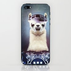 Llamatron iPhone & iPod Skin