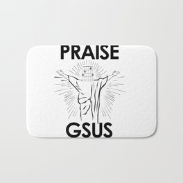 Praise G-Sus Guitar Chord Bath Mat