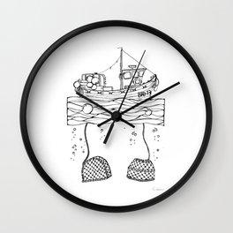 Broadford Skye #2 Wall Clock