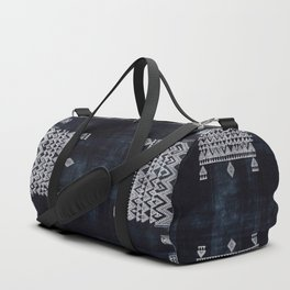 Arteresting V48 - Indigo Anthropologie Bohemien Traditional Moroccan Design Duffle Bag