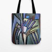 wings Tote Bags featuring WINGS by Deyana Deco