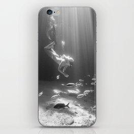 Thunderbolt Caves iPhone Skin