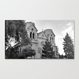 Cathedral Basilica of St. Francis of Assisi in Santa Fe Canvas Print