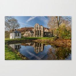 Abbey Reflection Canvas Print