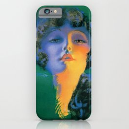 """""""Girl of My Dreams"""" Pinup by Rolf Armstrong iPhone Case"""