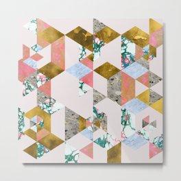 Geometry of Love #society6 #decor #buyart Metal Print