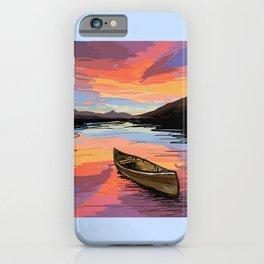 Canoe iPhone Case
