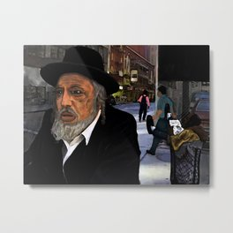 New York Business (Mind Your Own) Metal Print