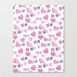 Love Hugs And Kisses Canvas Print