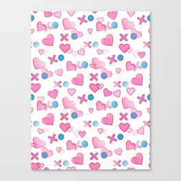 Love Hugs And Kisses Canvas Print