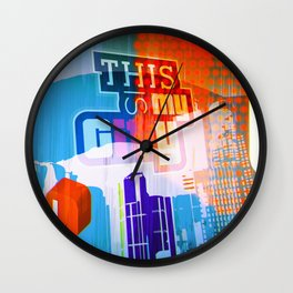 This is my city LS Wall Clock