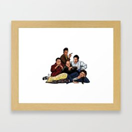 The Nothing Club Framed Art Print
