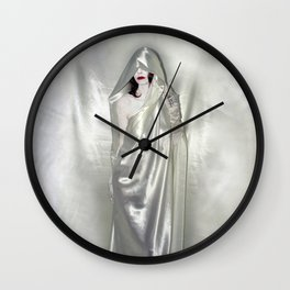 "say no to patriarchy / ""the justice"" Wall Clock"