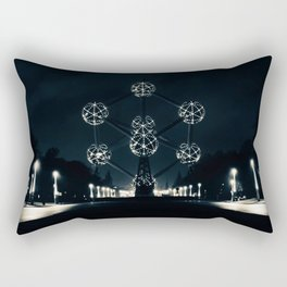 The Atomium Rectangular Pillow