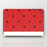 gengar iPad Cases featuring Fresh Water Melon by Electra