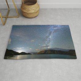 New Zealand Southern Hemisphere Skies Over Lake Wakatipu Rug