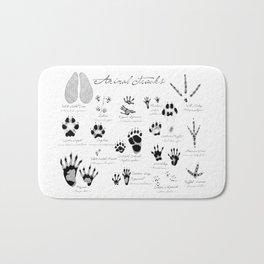 Animal Tracks Bath Mat