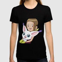 Hikari & Tailmon T-shirt