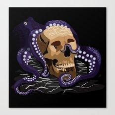 Octo Skull Canvas Print