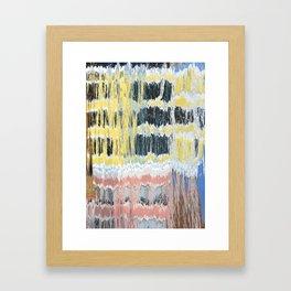Brushstrokes by the River Framed Art Print