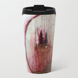 Infinity Original Artwork by Rachael Rice Metal Travel Mug