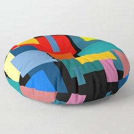 Color Blocks #8-2 Floor Pillow