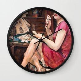 Gerda Wegener - Queen of Hearts - Digital Remastered Edition Wall Clock