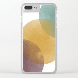 Stoplight Palette Clear iPhone Case