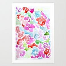 Rainbow Candy Art Print