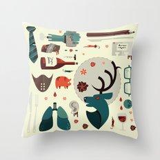 Hannibal Collection Throw Pillow