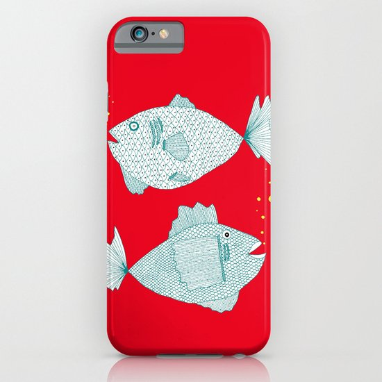 Two Old Fish iPhone & iPod Case