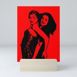 Rocky Horror   Magenta   Columbia   Pop Art Mini Art Print