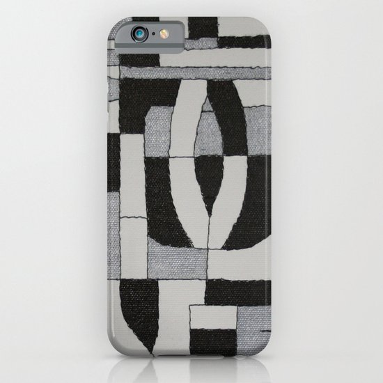 Silver Map iPhone & iPod Case