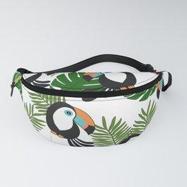 Toucan pattern Fanny Pack