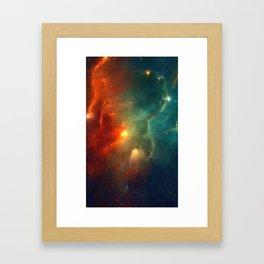 Abstract Galaxy Series No 1 Framed Art Print