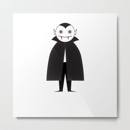 The Little Vampire Metal Print
