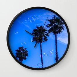 Tropical glitch Wall Clock