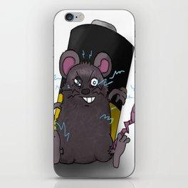 Zap Rat iPhone Skin